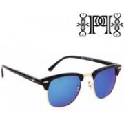 Poloport Wayfarer Sunglasses(Blue, Green)