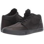 Nike Solarsoft Portmore II Mid Premium Skateboarding BlackBlackAnthracite