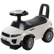 Masinuta fara pedale Land Rover Sun Baby, suporta maxim 27 kg, 12 luni+, alb