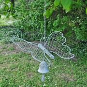 Cloche Papillon à Suspendre