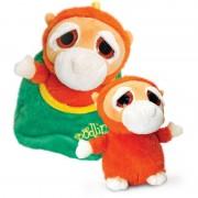 Urangutan de plus Zoo Podlings Keel Toys, 18 cm, 3 ani+