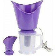 Naulakha 3 In 1 Facial Sauna Steamer Nose Steamer Nose Vaporiser Nozzle Inhaler Cough Steamer (Purple)