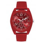 Guess Multifunctioneel Horloge Met Stikseldetails - Rood - Size: T/U