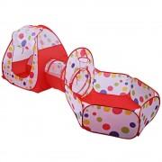 Tente Enfant Tente De Balles Basket-Ball Avec Tunnel Pliable Piscine De Balles Pour Enfants Maison Cubby Tente De Jeu Bébé Portable Sport En Plein Air Play House Jouets