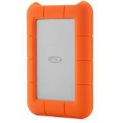 HDD Extern LaCie Rugged Mini, 2.5 inch, 2TB, USB 3.0, Rezistent la socuri (Portocaliu)