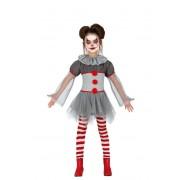 Guirca Disfraz de payaso Penny para niña - Talla 7 a 9 años