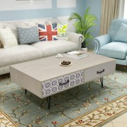 vidaXL Konferenčný stolík, 100x60x35 cm, béžový
