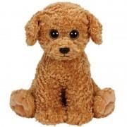 Ty Beanie Knuffel Ty Beanie hondje Luke bruin 24 cm knuffels kopen