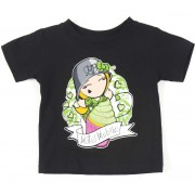 utcai póló férfi gyermek - CUPCAKE - METAL MULISHA - M14MS18125.01_BLK