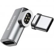 Mini Adaptador de Carregamento Magnético USB Tipo-C Baseus - 86W
