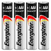 Energizer 4pk AAA Alkaline Batteries