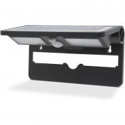 Reflector solar cu LED, cu senzor de mişcare şi de lumină - NEGRU