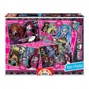 Educa Monster High puzzle, 4 az 1-ben