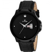 ARMADO AR-901-BLK Day and Date Analogue Watch -for Men