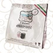 ToDa 10 Capsule ToDa Nespresso Gattopardo CapCiock Solubile Compatibili
