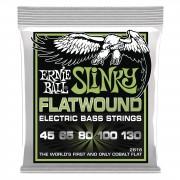 Ernie Ball EB2816 45-130 5-string Flatwound Cobalt