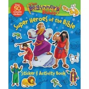 The Beginner's Bible Super Heroes of the Bible Sticker and Activity Book, Paperback