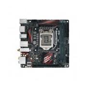 Tarjeta Madre ASUS mini ITX Z170I Pro Gaming, S-1151, Intel Z170, HDMI, USB 2.0/3.0/3.1, 32GB DDR4, para Intel ― Requiere Actualización de BIOS para trabajar con Procesadores de 7ma Generación