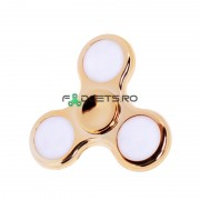 Fidget Spinner Led Metallic Gold