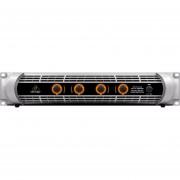 Amplificador Behringer NU4-6000 4 Canales 6400 Watts-Plata
