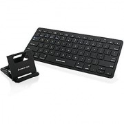IOGEAR Slim Multi-Link Bluetooth Keyboard with Stand (GKB632B)