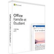 Office Famille et Etudiant 2019 - PC ou Mac - 1 utilisateur