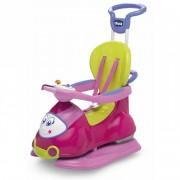 Chicco Quattro - Correpasillos Convertible En Balancín Color Rosa
