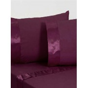 Bambury Single Satin Cuff Sheet Sets