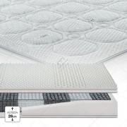 Cortassa Garda 1500 Memory Top Sfoderabile Dry Amicor 195cm 100cm