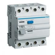 Intreruptor diferential 4P 63A, 30mA, AC Hager CD464J