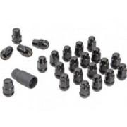 Set 23 Piulite Prezoane Roata 3/4inch Hex 1/2, NEGRE - Gorilla Automotive Products