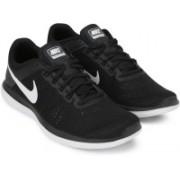 Nike WMNS NIKE FLEX 2016 RN Running Shoes For Women(Black, White)