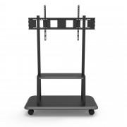 """Supporto a Pavimento con Mensola per TV LCD/LED/Plasma 55-120"""""""