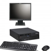 Sistem complet PC LENOVO M58 Intel® Core™2 Duo 2GB 250GB + Monitor LCD 19 inch + Tastatura si mouse