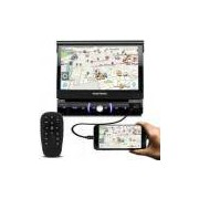 DVD Player Automotivo Pósitron SP6330BT 1 Din 7 Retrátil Bluetooth Touch Espelhamento USB SD MP3 - Positron