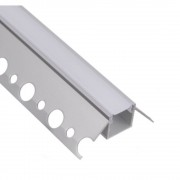 Profilo Angolare da incasso per cartongesso (tipo Z) per strisce LED
