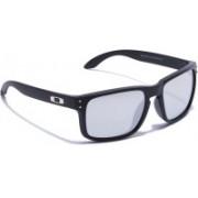 istirio Retro Square Sunglasses(Silver)