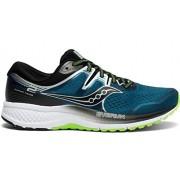Saucony Omni ISO 2 Zapatillas de Correr para Hombre, Marine/Silver, 8 Wide