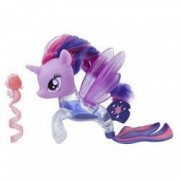 Figurina Sirena Twilight Sparkle cu apa Flip and Flow My Little Pony Filmul