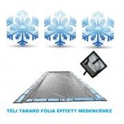 Silverado téli medence takaró fólia 6,8m x 11,8m (5m x 10m mérethez) AS-173110