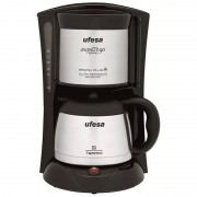 Ufesa CG7236 Avantis Termo Cafeteira 1L 800W Preta/Inox