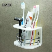 Nucleya Retail Acrylic Tooth Brush Holder/Stand/Tumbler for Bathroom Accessories for Home