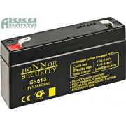 HONNOR 6V 1,3Ah akkumulátor