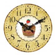 Wandklok Muffin