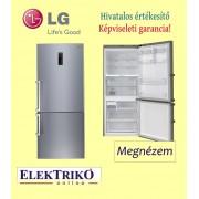 LG GBB548NSQFE alulfagyasztós 70 cm széles hűtőszekrény , A+++ energiaosztály