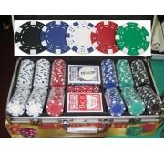 Dice 300 póker szett 11,5g számozatlan zsetonokkal