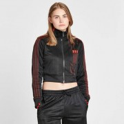 Adidas Crop Track Top X Alexander Wang For Women In Black - Size Wl