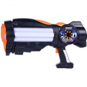 Space Wars Series Planet Of Toys Space Gun 38Cms Black (Led Light And Sound)