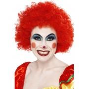 Peruca petrecere afro clown rosie