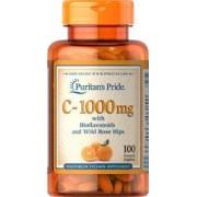 vitanatural Vitamina C-1000 Mg Rosa Canina 100 Compresses